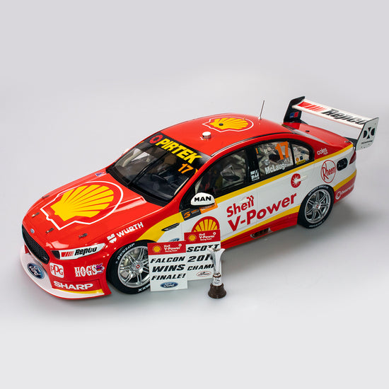 1:12 Shell V-Power Racing Team #17 Ford FGX Falcon Supercar 2018 Championship Winner