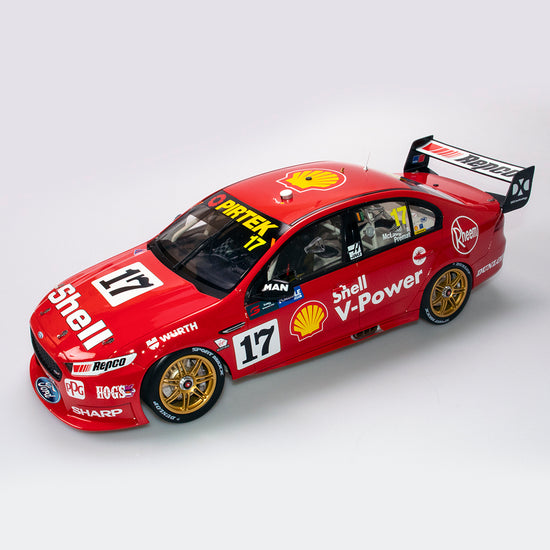 1:12 Shell V-Power Racing Team #17 Ford FGX Falcon 2018 Sandown 500 Retro Round