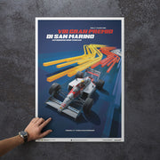 McLaren MP4/4 Ayrton Senna 1988 F1 World Champion (San Marino) Print