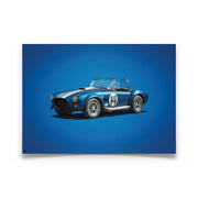Shelby Cobra Mk III Colors of Speed Print