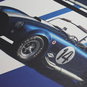Shelby Cobra Mk III in Blue Print