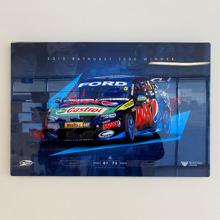 Ford Performance Racing 2013 Bathurst 1000 Winner Limited Edition Metal Wall Panel (Pre-Order)