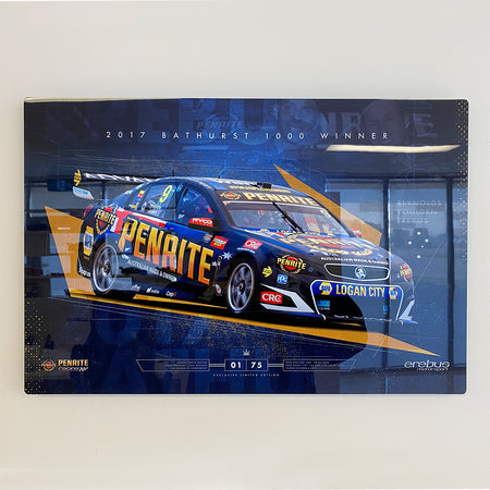 Erebus Penrite Racing 2017 Bathurst 1000 Winner Limited Edition Metal Wall Panel (Pre-Order)