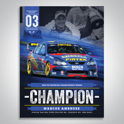 The Championship Decades - 2003 V8 Supercar Champion Poster