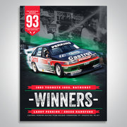 The Mountain Decades - 1993 Bathurst Winners Poster