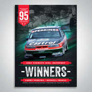 The Mountain Decades - 1995 Bathurst Winners Poster