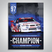 The Championship Decades - 1997 V8 Supercar Champion Poster