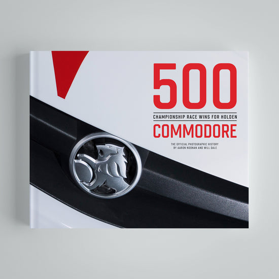 500 Championship Race Wins For Holden Commodore