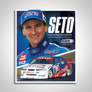 SETO: The Official Racing History of Glenn Seton Hardcover Book