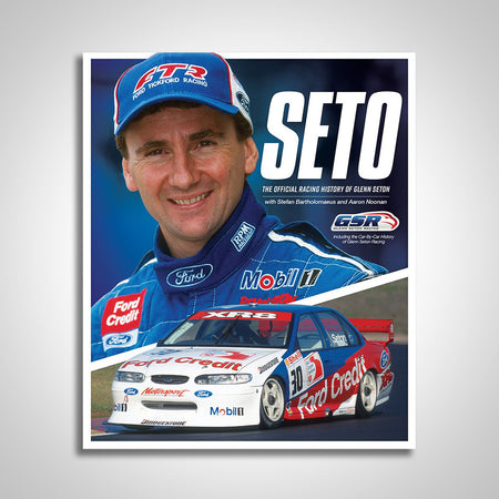 SETO: The Official Racing History of Glenn Seton Hardcover Book (Pre-Order)