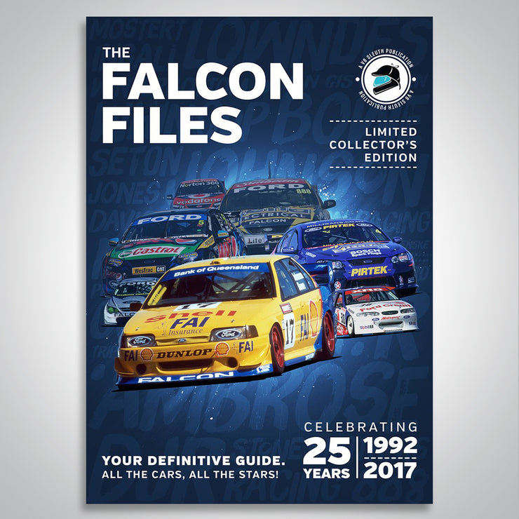 The Falcon Files Collector's Edition Magazine