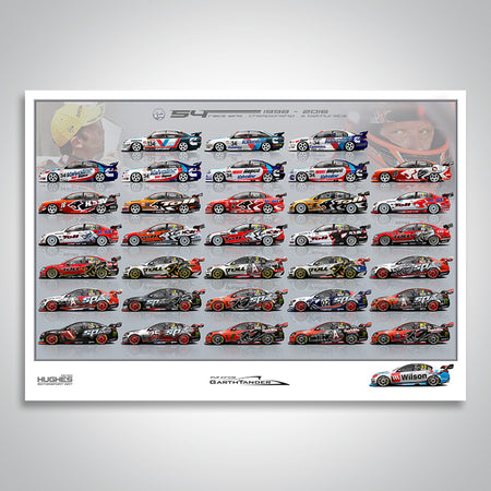 Garth Tander Full Circle Artist Proof Print
