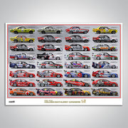 Holden Bathurst Winners 50th Anniversary Print