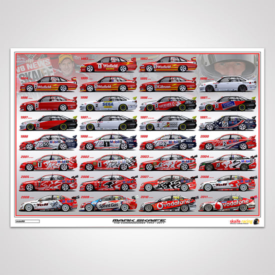 Mark Skaife - The Commodores 1993-2011 Print (Pre-Order)
