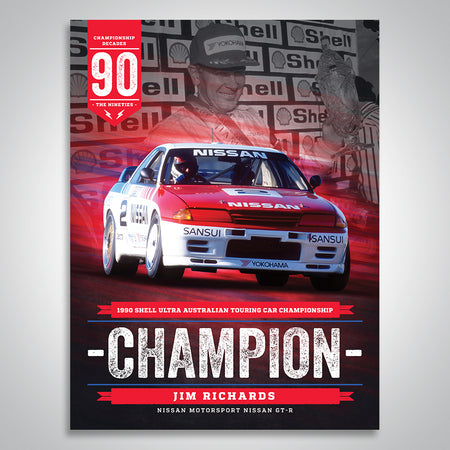 The Championship Decades - 1990 Australian Touring Car Champion Poster
