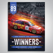 The Mountain Decades - 1989 Bathurst Winners Poster
