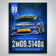 The Mountain Decades - 1999 Bathurst Pole Poster