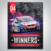 The Mountain Decades - 2004 Bathurst Winners Poster