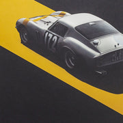 Ferrari 250 GTO 1964 Tour De France Automobile Winner Print