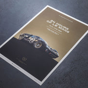 Ford GT40 1966 LeMans 24HR Winner Print