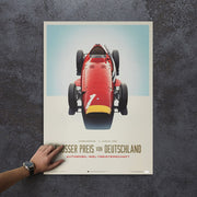 Maserati 250 F 1957 German GP Winner Print