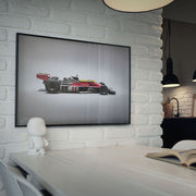 McLaren M23 James Hunt 1976 F1 World Champion Colours of Speed Print