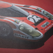 Porsche 917 Salzburg 1970 LeMans 24HR Winner Colors of Speed Print