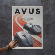 Silver Arrows Avus Print