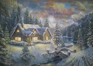 "Thomas Kinkade ""High Country Christmas"""