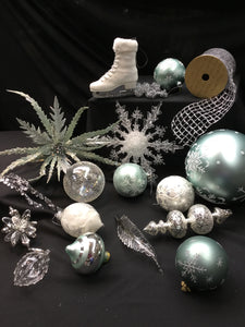 """Snow and Ice"" Specialty Ornament Collection"