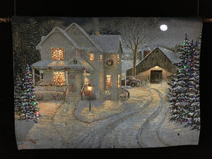 "Thomas Kinkade ""Country Night"""