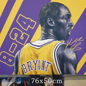 Kobe artwork by Zac art