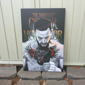 The Notorious Conor McGregor artwork by Code Zero Studio