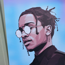 Flacko 4 Artwork by Nins Studio art