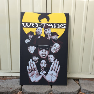 Wutang Artwork By Nins Studio art