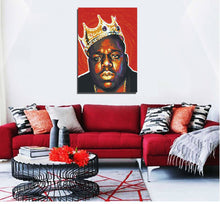 Notorious B.I.G (red) artwork by Eds G