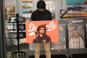 J cole Dreamville artwork by Biko T