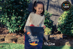 34. You Are Chosen (John 15:16) artwork - KIDS CANVAS - by Nynja