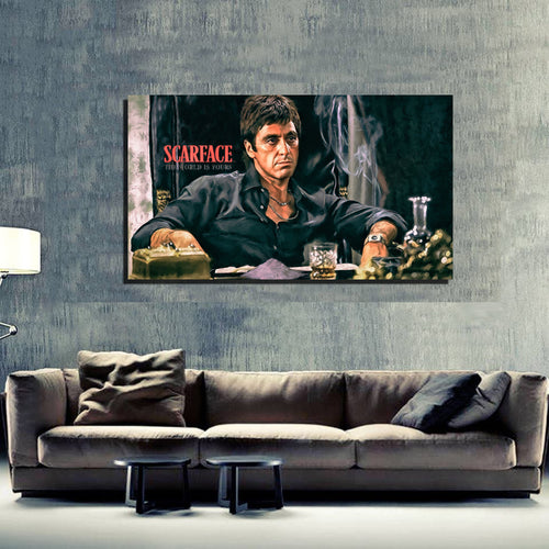 Scarface artwork by Chanman