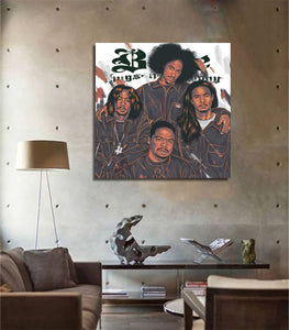 Bone Thugs artwork by Mj Macasinag