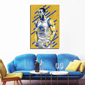 Steph Curry artwork by Nins Studio Art