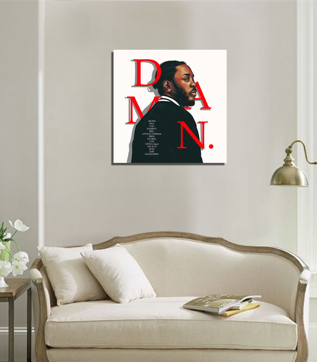 Kendrick 3 artwork by Eds G