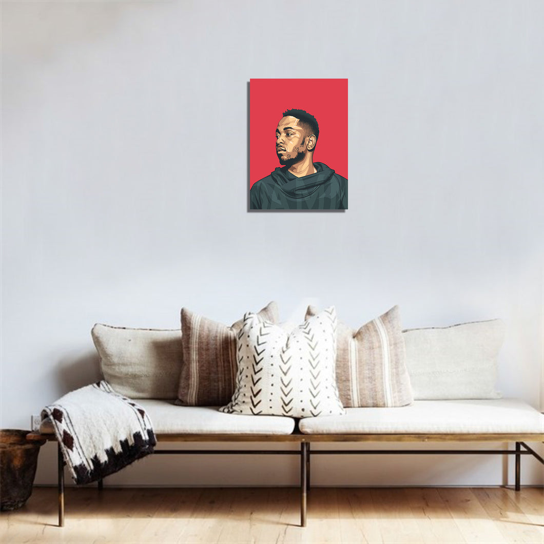 Kendrick (red) artwork by Biko T