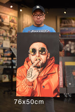 Mac Miller 2 artwork by Dan T