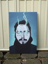 Posty ( Blue fire ) artwork by Code Zero Studio
