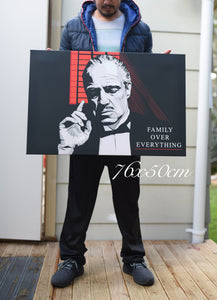 Don Corleone ( Family over everything ) By Artist Code Zero studio