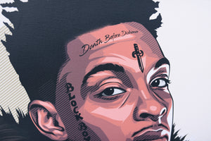 21 savage by artist Nins Studio
