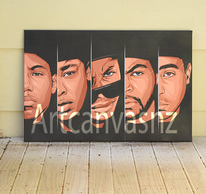 N.W.A 2 artwork by Code Zero Studio