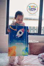 1. Rocket artwork - KIDS CANVAS -  by Arts of Hero