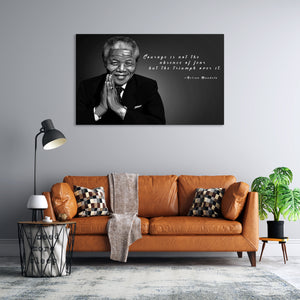 Nelson Mandela artwork by Nins studio art